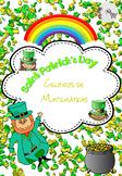 St Patrick's Day Math Centers Spanish / San Patricio Centros de Matemáticas