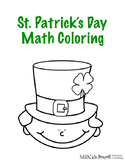 St. Patrick's Day Math Coloring