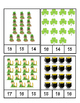 St. Patrick's Day - Math - Count and Clip Cards - Counting # 1 - 24