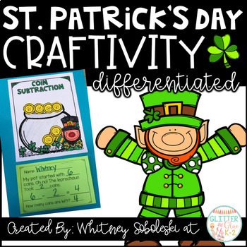 St. Patrick's Day Math Craft-Differentiated