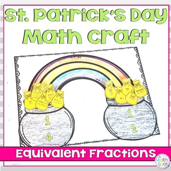 St. Patrick's Day Math Craft Equivalent Fractions