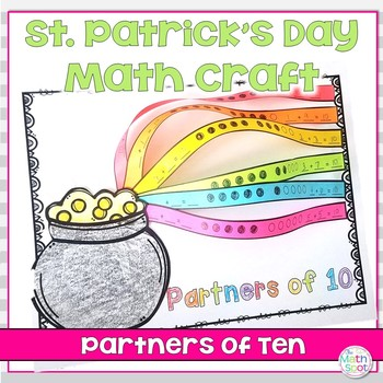 St. Patrick's Day Math Craft Partners of 10