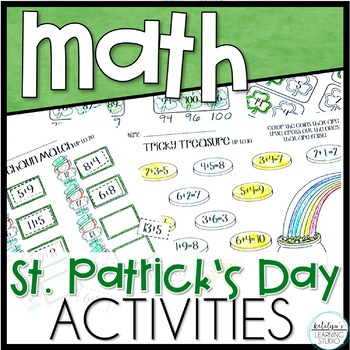 St. Patrick's Day Math Differentiated Worksheets