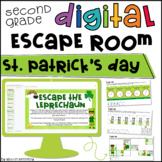St. Patrick's Day Math Digital Escape Room 2nd Grade