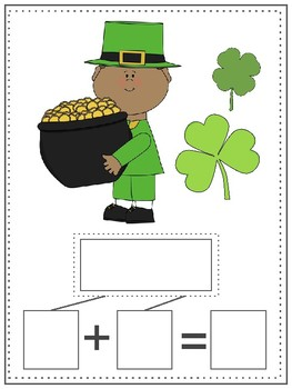St. Patrick's Day Math: Dominoes