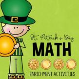 St. Patrick's Day Math Enrichment