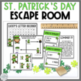 Math Escape Room: St. Patrick's Day