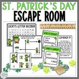 Math Escape Room: St. Patrick's Day (Money & Measurement)