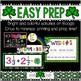 St. Patrick's Day Math Escape Room: Digital Math Review Activity & Test Prep
