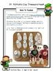 St. Patrick's Day Math Facts Treasure Hunt FREEBIE