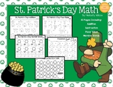 St. Patrick's Day Math Worksheets Addition First Grade