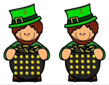 St. Patrick's Day Math Freebie: Pot of Gold Count