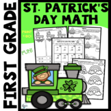 St. Patrick's Day Math Fun for K-1 Print and Go