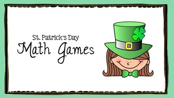 St. Patrick's Day Math Games