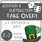 St. Patrick's Day Math Games - Addition and Subtraction TA