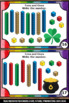 St. Patrick's Day Math Games, Base Ten Blocks, Tens and One Task Cards
