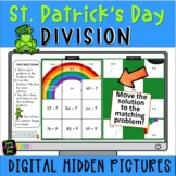 St. Patrick's Day Math Hidden Pictures | Division | Remain