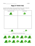 St. Patrick's Day Math K.MD.3