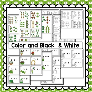 St. Patrick's Day Math Kindergarten