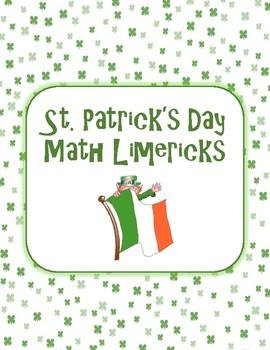 St. Patrick's Day Math Limericks