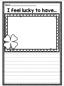 St. Patrick's Day Math & Literacy Themed Bundle