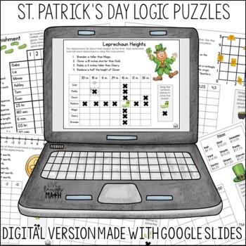 St. Patrick's Day Math Logic Puzzles