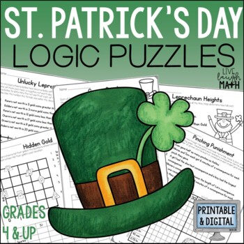 St. Patrick's Day Math Logic Puzzles