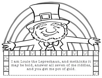 St. Patrick's Day Math: Multi-Step Word Problem Craftivity for Grades 2-5