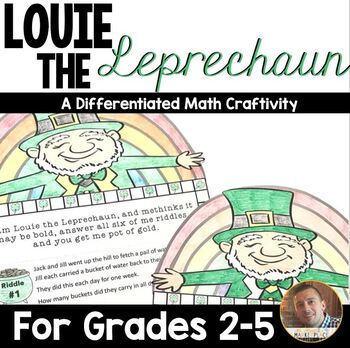 St Patrick S Day Math Multi Step Word Problem Craftivity For