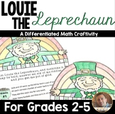 St. Patrick's Day Math: Multi-Step Word Problem Craftivity for Grades 2-5
