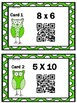 St. Patrick's Day Math Multiplication Scavenger Hunt with QR CODES!!