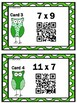 St. Patrick's Day Math Multiplication Scavenger Hunt with