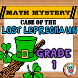 St Patrick's Day Math Mystery Activity - Case of The Lost Leprechaun