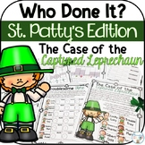 St. Patrick's Day Math Mystery Crack the Code - 2nd grade