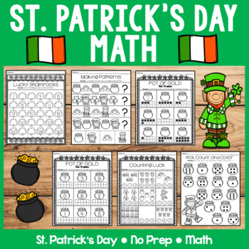 St. Patrick's Day   Math   No Prep