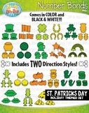 St. Patrick's Day Math Number Bonds Clipart {Zip-A-Dee-Doo-Dah Designs}