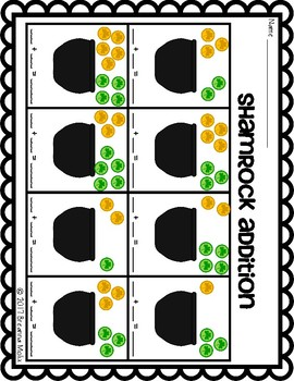 St. Patrick's Day Math Pack!