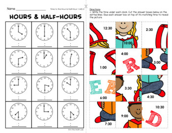 March Math Picture Puzzles