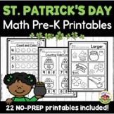 St. Patrick's Day Math Worksheets for Preschool