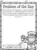 St. Patrick's Day Math - Problem of the Day