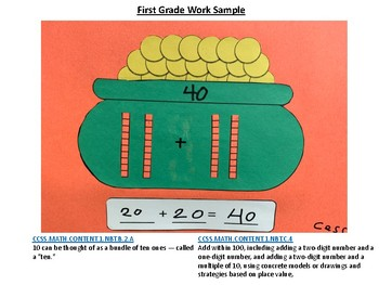 St. Patrick's Day Math Project (For Grades TK-2nd)