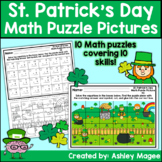 St. Patrick's Day Math Puzzle Pictures