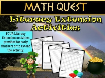 St Patrick's Day Math Quest: Over the Rainbow (EASY LEVEL)