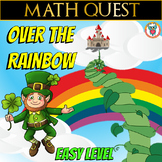 Math Quest: Over the Rainbow (EASY LEVEL)