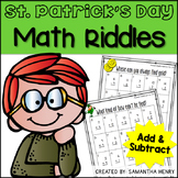 St. Patrick's Day Math Riddles