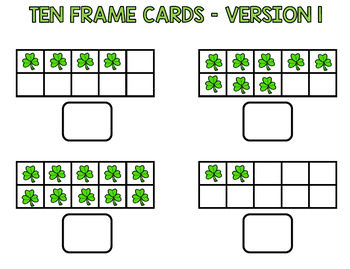 St. Patrick's Day Math - Special Education - Print & Go - Life Skills - March
