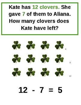 St. Patrick's Day Math Story Problems