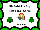 St. Patrick's Day Math Scoot Task Cards ...  Grade 4