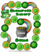 St Patrick's Day Math Word Problem Task Card Review:  Shamrock Bakery Game