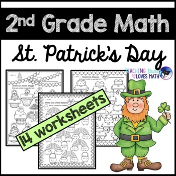 St. Patrick's Day Math Worksheets 2nd Grade Common Core